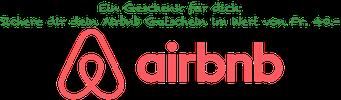 Airbnb Gutschein im Wert von 40 Chf