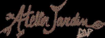 Logo Atelier Jardin; activité inclusif entre lycéens et personnes autistes