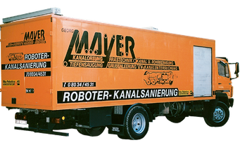 Fahrzeug zur Kanalreinigung, Kanalservice Mayer Nußdorf