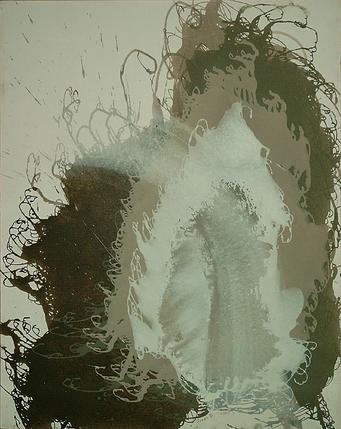Erlkönigs Heim - Acryl auf Leinwand, 2000 (90x70)