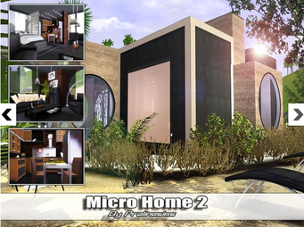 Micro Home2 de Pralinesims