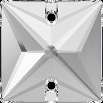 Swarovski 3240 Neliö Square Ommeltava crystal