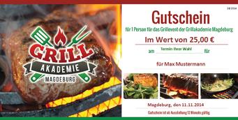 Gutschein für Grillkurse in Magdeburg