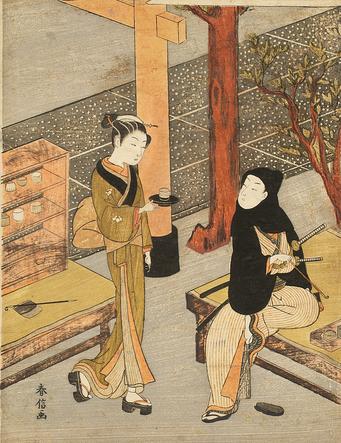 ※「笠森お仙」画像:たばこと塩の博物館より