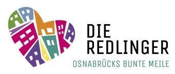 Buntes Herz-Logo der Redlingerstrasse