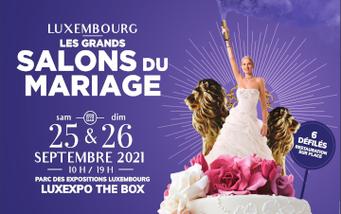 Salon du Mariage de Luxembourg 25 et 26 Septembre 2021