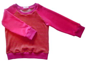 Niki, pink/grün, für Kinder, faire Mode, Herzkind, Berlin