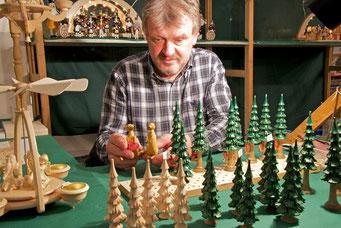 Thomas Gründig, das Urgestein der Handwerkerschaft, von Anfang an dabei.
