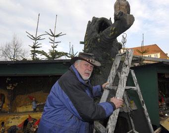 Rolf Kirsten - hier im Bad Schwartauer Märchenwald.