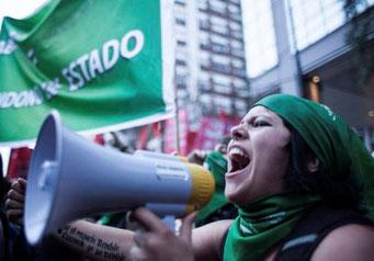 Feministisk agitation i Santiago de Chile