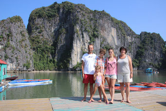 Thank's to Kean for this picture in Halong Bay