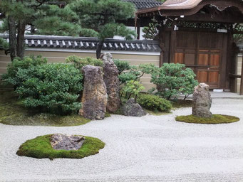 Jardin zen de Ryoanji à Kyoto credit photo2009©Uyttenbroeck