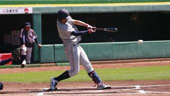 本塁打を含む2安打を放った橋本