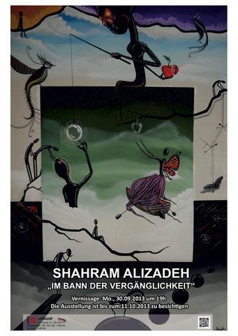 Galerie Time Günther Wachtl Shahram Alizadeh Iran Exiliraner USA Im Bann Der Vergänglichkeit Vernissage Ausstellung