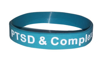 PTSD and Complex awareness PTSD Wristband