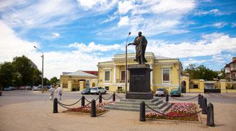 памятник александру первому в Таганроге