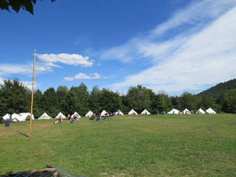 Zeltlager 2016 in Hauenstein