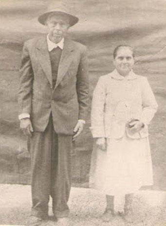 José Francisco Flores Neira y Hortensia Del Carmen Arriagada Torres