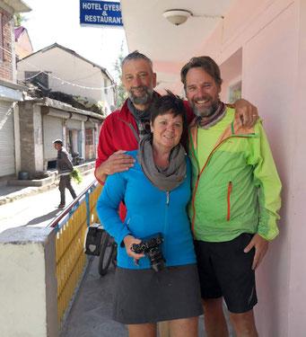 Ilse und Bart aus Belgien ticken ähnlich wie wir (auch sie mögen Bier!). Wir geniessen die Zeit mit den beiden sehr.