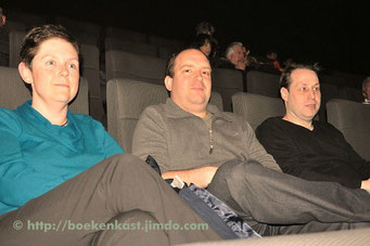 Els Lenart, Martijn Ringoot en Glenn De Meulenaer
