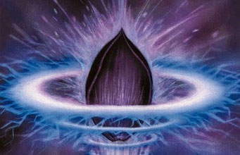 """In Indien heißt die Lotosblume """"Padma"""". Padma war im alten Indien auch das Urmeer, aus dem das Universum entstand"""