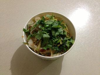 Liang Pi (凉皮) mit extra viel Xiang Cai (香菜)