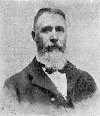Photo of James Oag included with his obituary in the Western Times in August 1912.