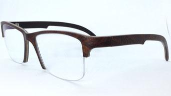 Nylonfadenbrille, Nylorfassung, Sonderanfertigung