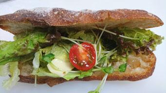 ロデヴの野菜サラダサンド