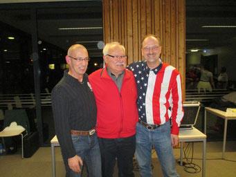 Unsere Caller Thomas, Franz-Josef und Michael