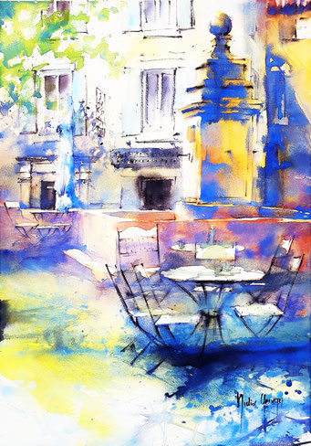 Aquarelle / Watercolor by Didier GEORGES