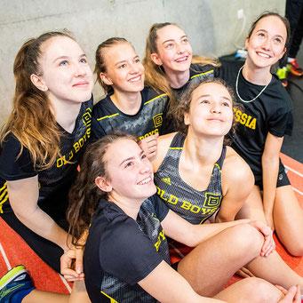 U16W-LAS Old Boys Basel (Foto: Facebook UBS Kids Cup)