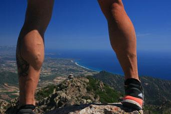 Blick vom Monte Ferru (875 m ü. NN)