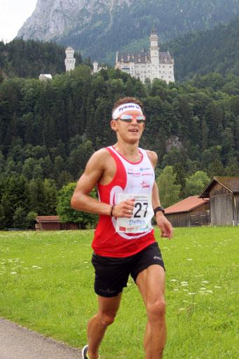 Königlich laufen - das geht nur in Füssen (Foto: Streil K.)