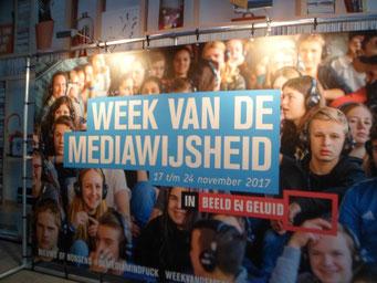Plakat zur Woche der Medienkompetenz (Foto: Frank Hartung)