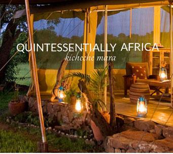 Kicheche - лучшая цепочка кемпов в национальных парках Кении уровня Luxury