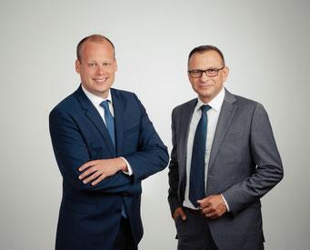 Koen Bolster (left) and Tobias Jaeschke  -  photos: company courtesy