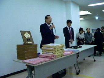 2015 ぴおシティー書道コンクール平出会長の挨拶