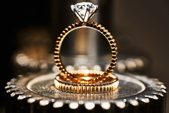 Roségold Diamant Ring by JAD - Foto by Matthias Baumbach