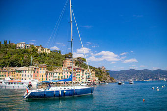 Italien, Italienische Riviera, Portofino, Hafen, Die Traumreiser