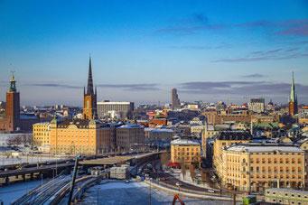 Stockholm, Schweden, Skandinavien, Die Traumreiser