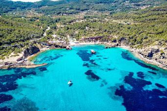 Ibiza, Balearen, Buchten, Strände, Die Traumreiser