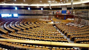 Brüssel Europaviertel Plenarsaal