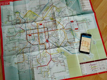 Brüssel Metroplan Karte Metro