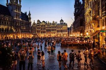 Brüssel Sehenswürdigkeiten Grote Markt