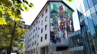 Brüssel Sehenswürdigkeiten Street Art Comics