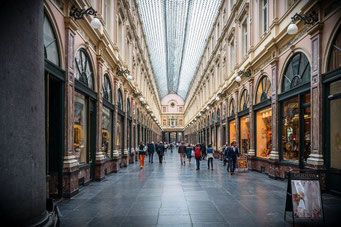 Brüssel Passage Galeries Royal Saint-Hubert