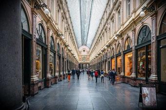 Brüssel Sehenswürdigkeiten Passage Galeries Royal Saint-Hubert
