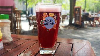 Brüssel belgisches Bier Kriek