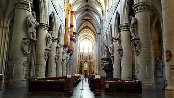 Brüssel Sehenswürdigkeiten St. Michel et Gudule